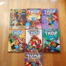 Comics: LOTE WALT SIMONSON, THOR, 7 VOLUMENES, DIFICILES. Lote 206396112