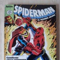 Cómics: SPIDERMAN EL HOMBRE ARAÑA - RETAPADO - 5 NUMEROS - 66,67,68,69 Y 70 - MARVEL COMICS FORUM 1985. Lote 76948405