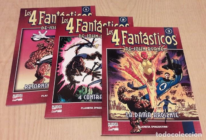 LOS 4 FANTASTICOS.JOHN BYRNE.3 TOMOS. (Tebeos y Comics - Forum - 4 Fantásticos)