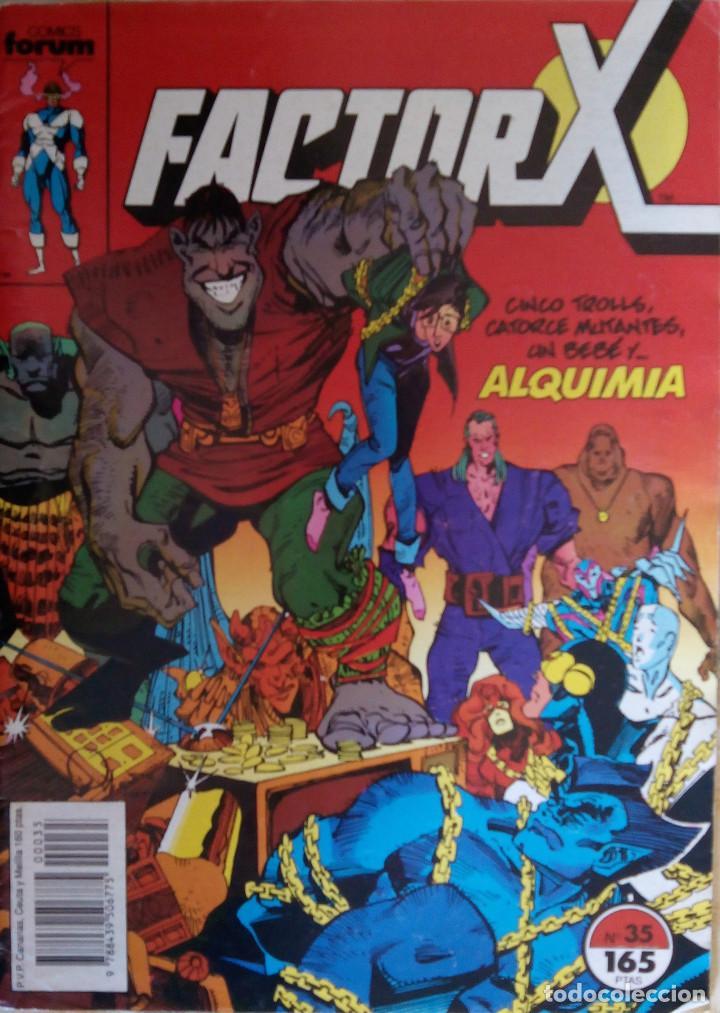 FACTOR X Nº 35 COMICS FORUM (Tebeos y Comics - Forum - Otros Forum)