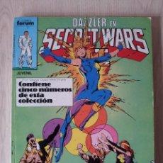 Comics - DAZZLER EN SECRET WARS II - RETAPADO - 5 NUMEROS - 26,27,28,29 Y 30 - MARVEL COMICS FORUM 1985 - 77017033