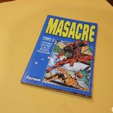Cómics: MASACRE TOMO 5 EXCELENTE ESTADO DEL 21 AL 26 RETAPADO FORUM. Lote 77092381