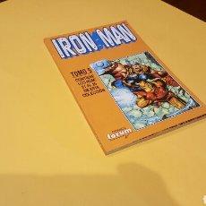 Cómics: IRON MAN TOMO 5 EXCELENTE ESTADO DEL 21 AL 25 RETAPADO FORUM. Lote 77093069