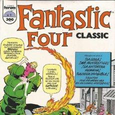 Cómics: LOS 4 FANTASTICOS FANTASTIC FOUR CLASSIC EDITORIAL PLANETA-DEAGOSTINI COMPLETA 11 Nº. Lote 77144625