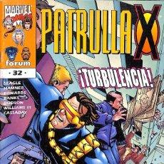 Cómics: PATRULLA X Nº 32 VOLUMEN II - TURBULENCIA. Lote 77366489