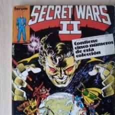 Cómics: SECRET WARS II - RETAPADO - 5 NUMEROS - 21,22,23,24 Y 25 - MARVEL COMICS FORUM 1985. Lote 77408461