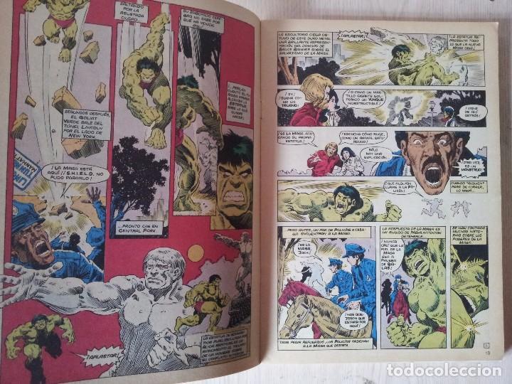 Cómics: LA MASA, EL INCREIBLE HULK - RETAPADO - 5 NUMEROS - 36,37,38,39 Y 40 - MARVEL COMICS FORUM 1985 - Foto 3 - 77409757