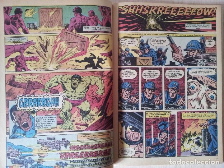 Cómics: LA MASA, EL INCREIBLE HULK - RETAPADO - 5 NUMEROS - 36,37,38,39 Y 40 - MARVEL COMICS FORUM 1985 - Foto 5 - 77409757