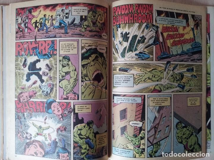 Cómics: LA MASA, EL INCREIBLE HULK - RETAPADO - 5 NUMEROS - 36,37,38,39 Y 40 - MARVEL COMICS FORUM 1985 - Foto 9 - 77409757