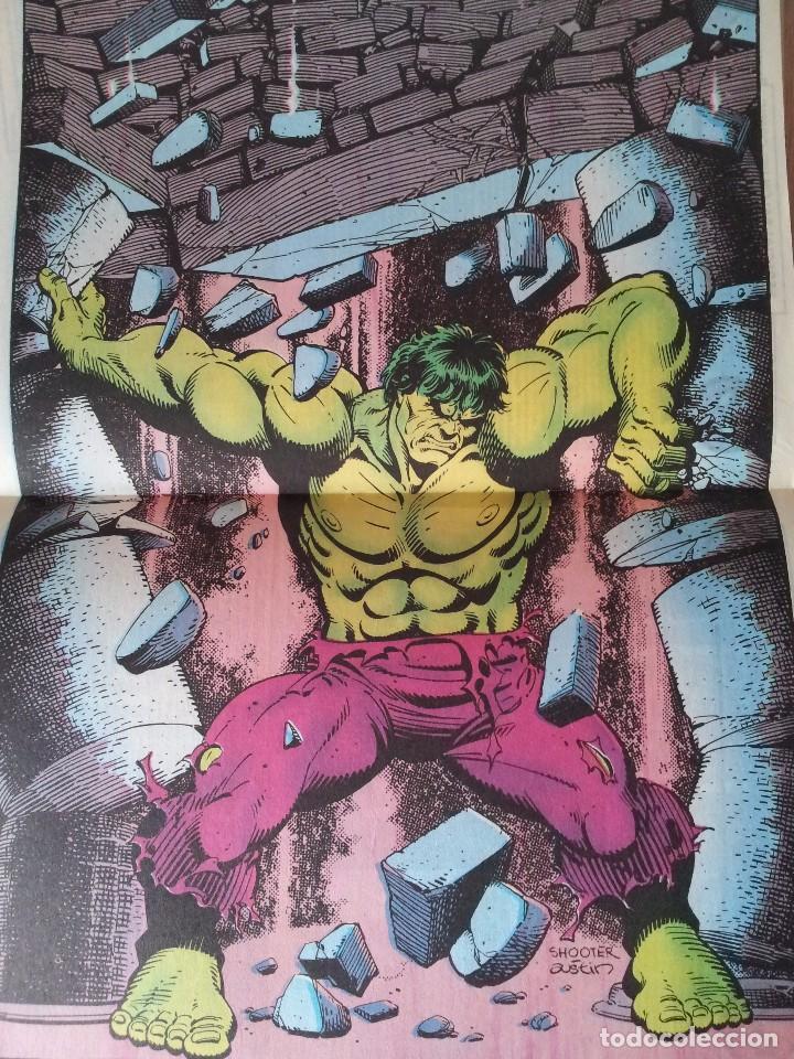 Cómics: LA MASA, EL INCREIBLE HULK - RETAPADO - 5 NUMEROS - 36,37,38,39 Y 40 - MARVEL COMICS FORUM 1985 - Foto 11 - 77409757