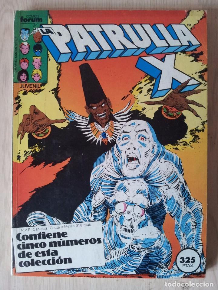 PATRULLA X - RETAPADO - 5 NUMEROS - 37,38,39,40 Y 41 - MARVEL COMICS FORUM 1985 (Tebeos y Comics - Forum - Retapados)