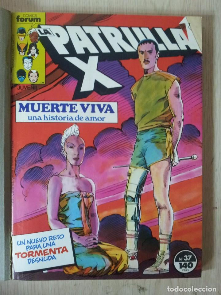 Cómics: PATRULLA X - RETAPADO - 5 NUMEROS - 37,38,39,40 Y 41 - MARVEL COMICS FORUM 1985 - Foto 2 - 77410225