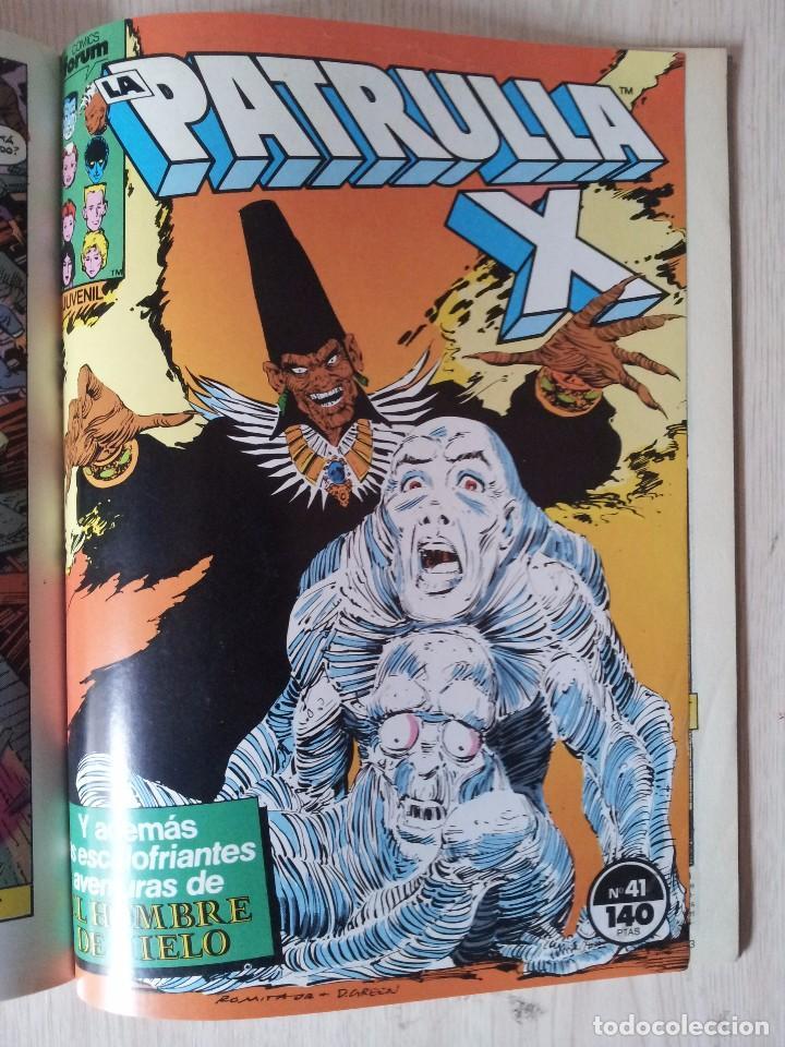 Cómics: PATRULLA X - RETAPADO - 5 NUMEROS - 37,38,39,40 Y 41 - MARVEL COMICS FORUM 1985 - Foto 10 - 77410225