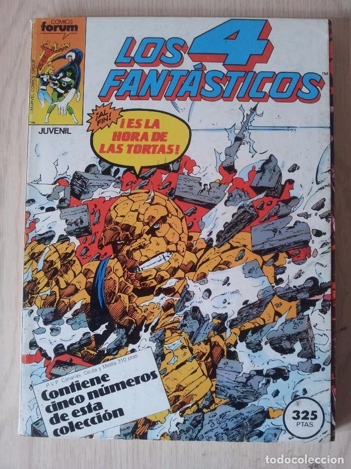 LOS 4 FANTASTICOS - RETAPADO - 5 NUMEROS - 46,47,48,49 Y 50 - MARVEL COMICS FORUM 1983 (Tebeos y Comics - Forum - Retapados)
