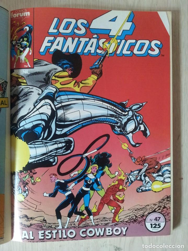 Cómics: LOS 4 FANTASTICOS - RETAPADO - 5 NUMEROS - 46,47,48,49 Y 50 - MARVEL COMICS FORUM 1983 - Foto 4 - 77411773