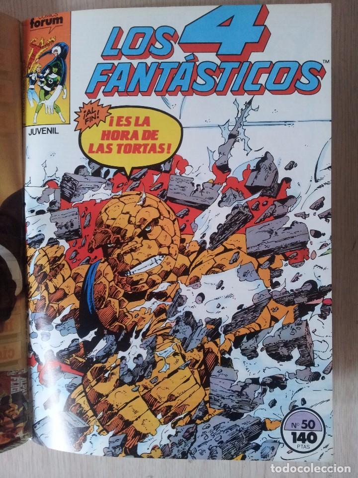 Cómics: LOS 4 FANTASTICOS - RETAPADO - 5 NUMEROS - 46,47,48,49 Y 50 - MARVEL COMICS FORUM 1983 - Foto 10 - 77411773