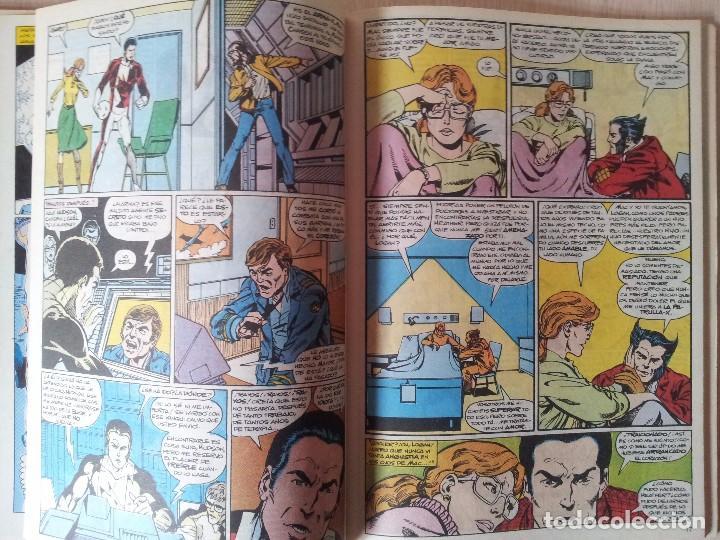 Cómics: ALPHA FLIGHT - RETAPADO - 5 NUMEROS - 11,12,13,14 Y 15 - MARVEL COMICS FORUM 1985 - Foto 7 - 77412341