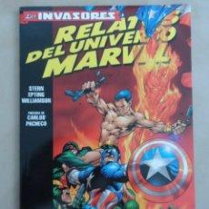Cómics: RELATOS DEL UNIVERSO MARVEL COMPLETA 2 TOMOS - FORUM - LOS INVASORES & LOS CAZADORES DE MONSTRUOS. Lote 77422589