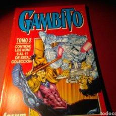 Cómics: GAMBITO TOMO 2 EXCELENTE ESTADO FORUM RETAPADO. Lote 77457910