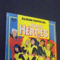 Cómics: ÁLBUM ESPECIAL MARVEL HEROES - RETAPADO - CONTIENE DOS NUMEROS EXTRA - FORUM.. Lote 77688957