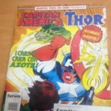 Cómics: TOMO RETAPADO CAPITAN AMERICA THOR FORUM VOL1 CONTIENE DEL 60 AL 62. Lote 78150429