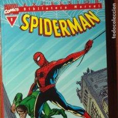 Cómics: BILBIOTECA MARVEL SPIDERMAN DE FORUM Y PANINI COMPLETA 47 TOMITOS. Lote 78386389