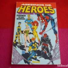 Cómics: ASESINOS DE HEROES ( MICHELINIE SCOTT MCDANIEL ) SPIDERMAN NEW WARRIORS ¡BUEN ESTADO! MARVEL FORUM. Lote 78515501