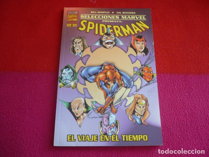 SPIDERMAN EL VIAJE EN EL TIEMPO ( MANTLO SAL BUSCEMA ) ¡MUY BUEN ESTADO! SELECCIONES MARVEL FORUM (Tebeos y Comics - Forum - Spiderman)