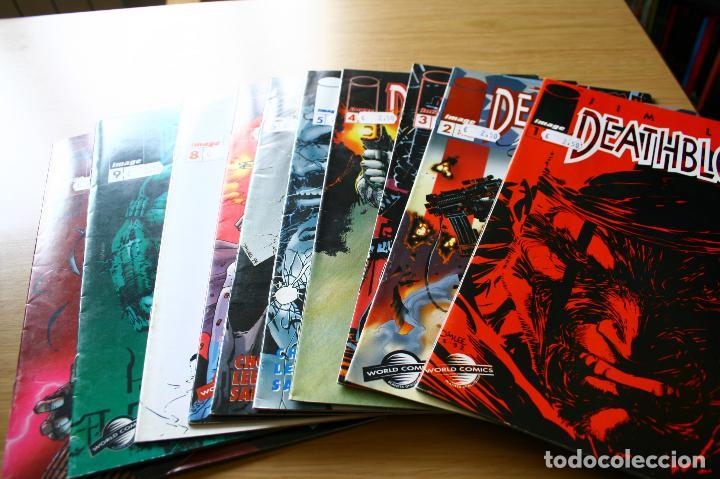 DEATHBLOW DE JIM LEE - VOLUMEN 1 COMPLETA 12 NÚMEROS - IMAGE PLANETA (Tebeos y Comics - Otros Forum)