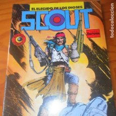 Cómics: SCOUT Nº 5 - ECLIPSE COMICS - FORUM . Lote 79026689