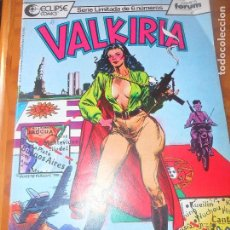 Cómics: VALKIRIA Nº 4 - ECLIPSE COMICS - FORUM . Lote 79026861