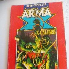 Cómics: ARMA X Y X-CALIBRE. LA ERA DEL APOCALIPSIS X-MEN OBRA COMPLETA. 8 NºS RETAPADOS FORUM COMIC. Lote 79028109