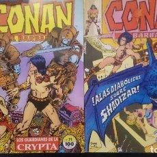 Cómics: CONAN EL BARBARO Nº 70 Y 71. Lote 79377565