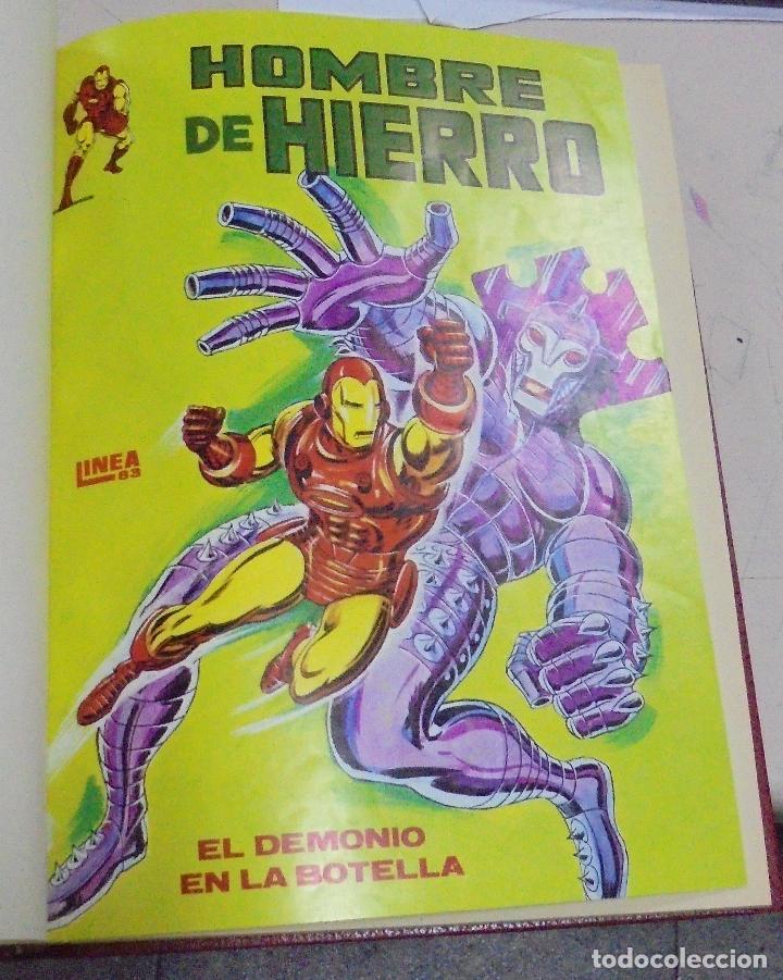 Cómics: IRON - MAN. VARIOS NUMEROS ENCUADERNADOS. AÑO 1979, 1980. LEER - Foto 3 - 79751297