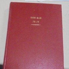 Cómics: IRON - MAN. VARIOS NUMEROS ENCUADERNADOS. AÑO 1978, 1979. LEER. Lote 79751485