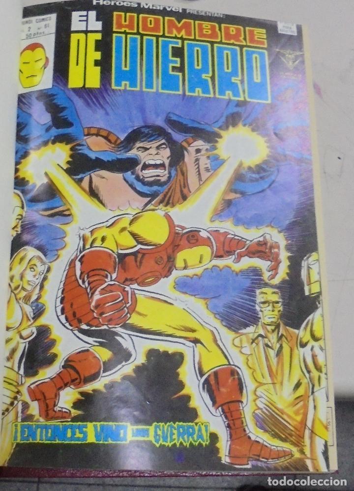Cómics: IRON - MAN. VARIOS NUMEROS ENCUADERNADOS. AÑO 1978, 1979. LEER - Foto 3 - 79751485