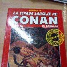 Cómics: LA ESPADA SALVAJE DE CONAN , EDICION COLECCIONISTA TOMO 3 ROJO. Lote 79753413