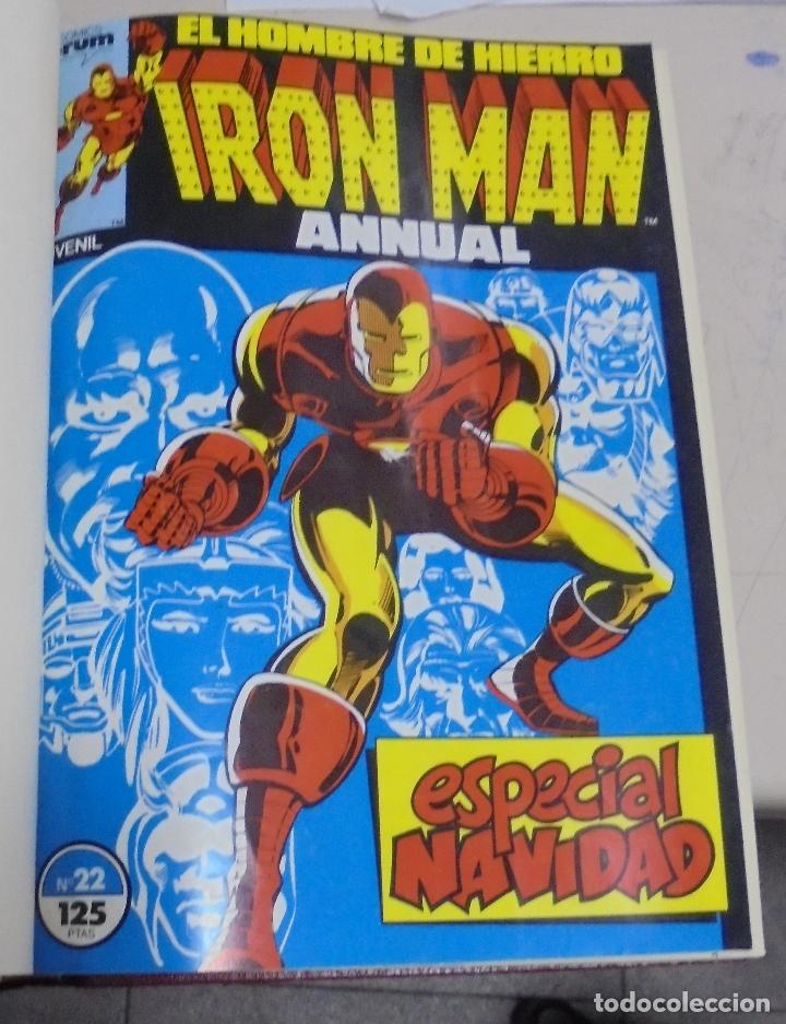 Cómics: IRON MAN, IRON MAN ANNUAL, SILVER SURFER, MARVEL TWO IN ONE, CAPTAIN MARVEL. VARIOS Nº. LEER - Foto 2 - 79754381