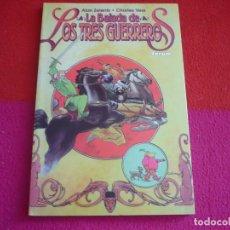 Cómics: LA BALADA DE LOS TRES GUERREROS ( ALAN ZELENETZ CHARLES VESS ) ¡MUY BUEN ESTADO! FORUM MARVEL THOR. Lote 79770541