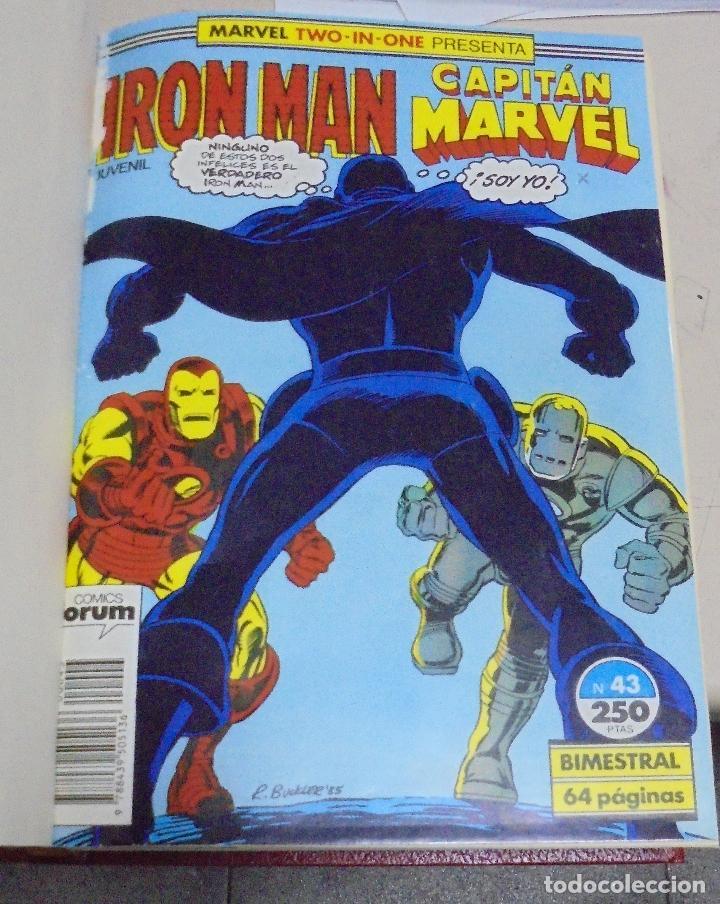 Cómics: IRON - MAN, CAPTAIN MARVEL. VARIOS NUMEROS ENCUADERNADOS. AÑOS 60 Y 1985, 1986, 1987. LEER - Foto 2 - 79831457
