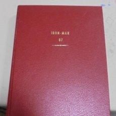 Cómics: IRON MAN, CAPTAIN MARVEL, ESTELA PLATEADA. VARIOS NUMEROS ENCUADERNADOS. AÑOS 70 Y 80. LEER. Lote 79832093