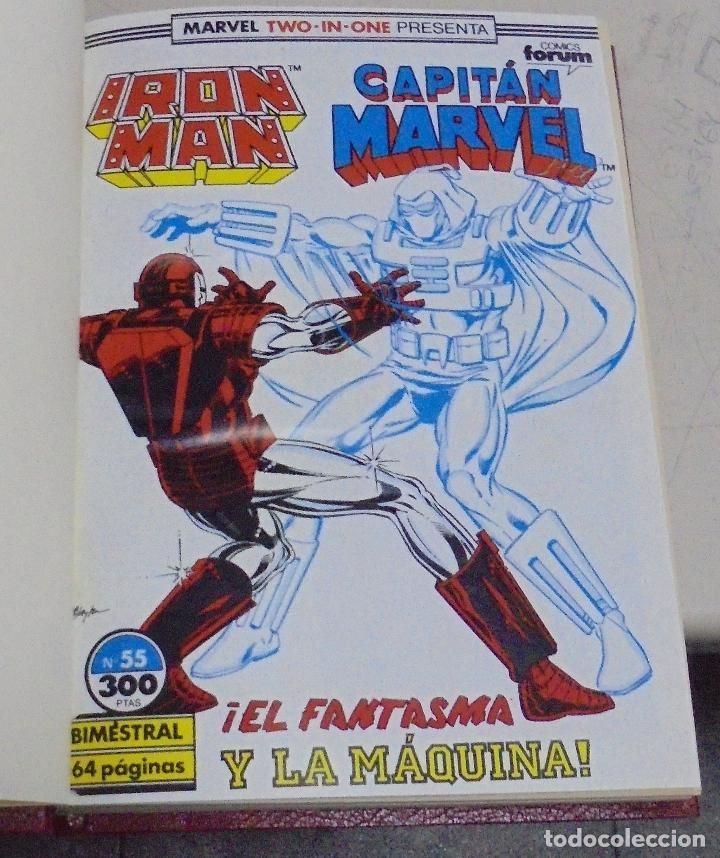 Cómics: IRON MAN, CAPTAIN MARVEL, ESTELA PLATEADA. VARIOS NUMEROS ENCUADERNADOS. AÑOS 70 Y 80. LEER - Foto 2 - 79832093