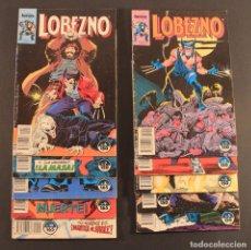 Cómics: 1989 COMICS FORUM - LOBEZNO (WOLVERINE) - 10 PRIMEROS NÚMEROS DE LA COLE - 1 2 3 4 5 6 7 8 9 Y 10. Lote 79872933