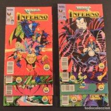 Cómics: 1991 COMICS FORUM SAGA INFERNO PRIMEROS 8 NÚMEROS - NÚMS. 1 2 3 4 5 6 7 8 - BUEN ESTADO. Lote 79880677