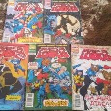 Comics: JAURIA DE LOBOS (OBRA COMPLETA 5 NÚMEROS) - FORUM. Lote 219542191