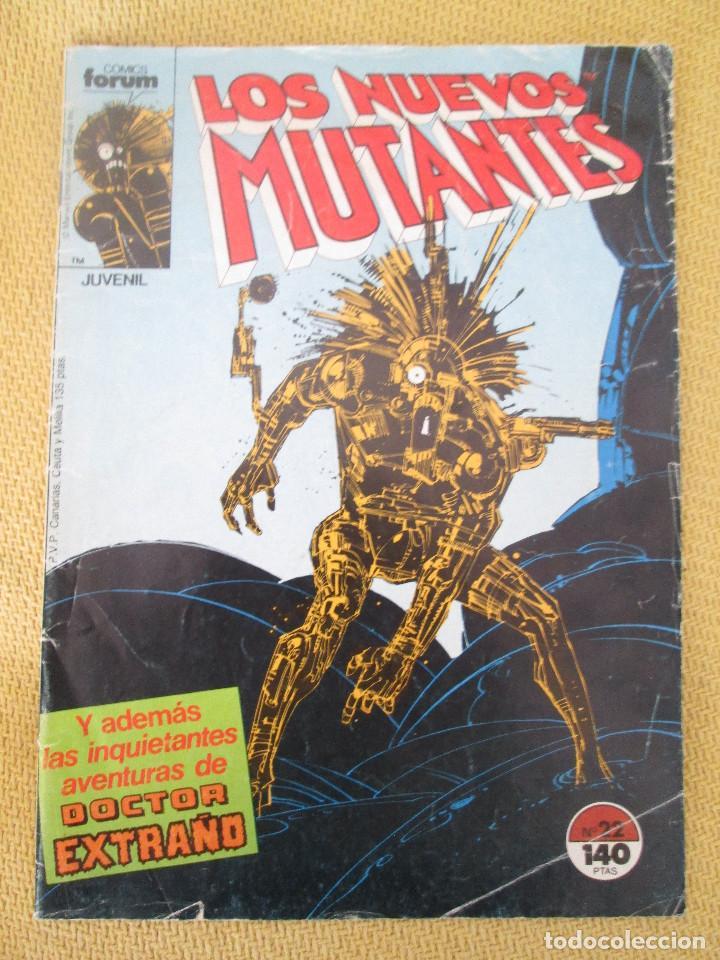 LOS NUEVOS MUTANTES NUMERO 22 ED. FORUM (Tebeos y Comics - Forum - Nuevos Mutantes)