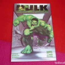 Cómics: HULK ADAPTACION OFICIAL DE LA PELICULA ( BRUCE JONES MARK BAGLEY ) ¡MUY BUEN ESTADO! FORUM MARVEL. Lote 79959129