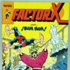 Cómics: FACTOR X -Nº 12 - ¡BUM, BUM!- 1989-LOUISE SIMONSON- MARC SILVESTRI-BUENO-RARO-6019. Lote 80003141