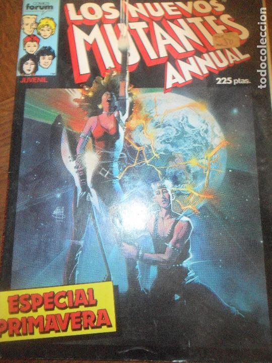 LOS NUEVOS MUTANTES - ESPECIAL PRIMAVERA - FORUM (Tebeos y Comics - Forum - Nuevos Mutantes)