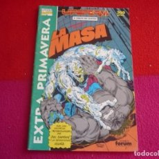 Cómics: LA MASA EXTRA PRIMAVERA 1991 LIFEFORM 3 ( PETER DAVID ) MARVEL FORUM HULK. Lote 80094533